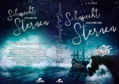 Buchcover Sehnsucht zwischen den Sternen