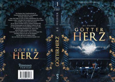 Buchcover Götterherz2